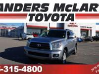 This 2012 Toyota Sequoia RWD 4.6L SR5 will sell fast