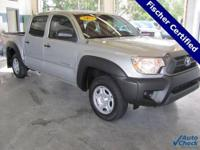2012 Toyota Tacoma ** Double Cab ** 24 MPG! ** 1-Owner