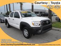 2012 TOYOTA Tacoma Pickup Truck 2WD Double Cab I4 AT