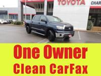 Toyota Certified. Carfax One Owner, Cruise Control,
