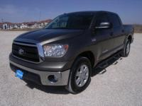CARFAX 1-Owner, Toyota Certified. Tundra trim. iPod/MP3