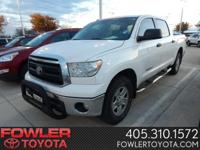 Tundra CrewMax! Automatic Transmission! Running Boards!