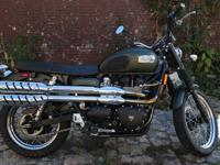 2012 Triumph ScramblerCompletely stock and