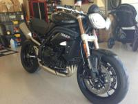 2012 Triumph Speed Triple 1050cc in practically
