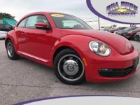 Recent Arrival! 2012 Volkswagen Beetle 2.5L in Red with