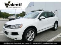 VW Certified 2 YR/ Unlimited Mile Warranty, Touareg V6