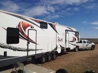 2012 XLR Thunderbolt 42ft fifth wheel toy hauler for