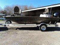 Description A great hunting/fishing boat loaded with