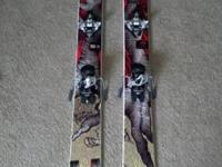 I have a pair of 176cm Liberty Helix skis, 105mm