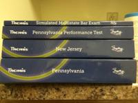 For sale are four 2013-14 Themis PA and NJ bar