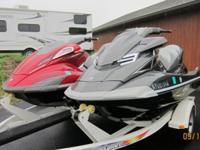 Ready For Summer Fun!Two Like-New Yamaha FX Cruiser