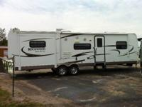 2013 self contained travel trailer 1 Superslide (couch