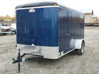 For sale is a 2013 6x12' Cargomate enclosed trailer.