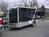 New 2013 6x12 w/Ramp Door 2990 GVW Color is Black