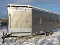 For sale is a like new 2013 8.5x26' Cargomate Snowbird.