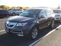 CARFAX One-Owner. Clean CARFAX. 2013 Acura MDX 3.7L