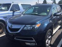 Come see this 2013 Acura MDX Tech Pkg. Its Automatic