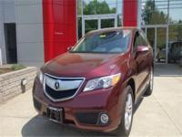 2013 Acura RDX Tech 4dr SUV AWD- Auto, Leather Heated