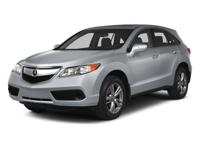 ACURA FACTORY CERTIFIED, CARFAX GUARANTEED 1-OWNER!!