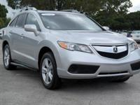 Options:  2013 Acura Rdx Base|Silver/|V6 3.5L