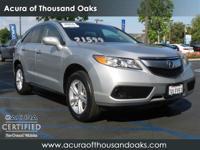 Options:  2013 Acura Rdx|Silver/|V6 3.5L
