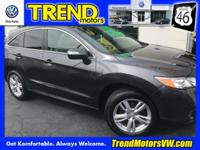 CARFAX One-Owner. Clean CARFAX. Gray 2013 Acura RDX AWD