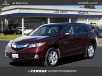 This 2013 Acura RDX 4dr FWD 4dr Tech Pkg SUV features a