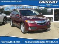Recent Arrival! CARFAX One-Owner. 2013 Acura RDX