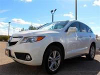 This outstanding example of a 2013 Acura RDX Tech Pkg