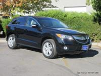2013 RDX 5-passenger front-wheel-drive crossover in