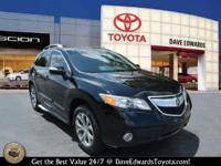 Options:  2013 Acura Rdx W/Tech|Awd 4Dr Suv