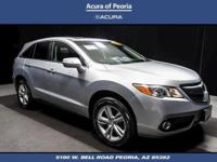 Certified. AWD.  2013 Acura RDX Technology Package