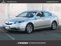 This 2013 Acura TL 4dr Sdn Auto 2WD Sedan features a