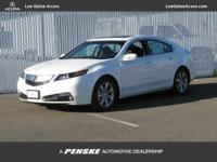 This 2013 Acura TL 4dr Sdn Auto 2WD Tech Sedan features