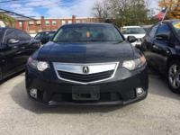 Drive away with this beautiful 2013 Acura TSX. Down