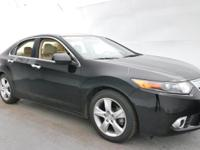 2013 Acura TSX 2.4 Crystal Black Pearl Recent Arrival!
