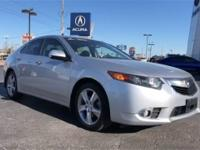 Certified. Silver 2013 Acura TSX 2.4 Technology FWD