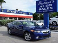Options:  2013 Acura Tsx 2.4|Blue|Apr As Low As 2.99 %