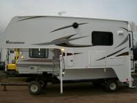 Adventurer Truck Camper Model 86FB is 8 foot 6 inches