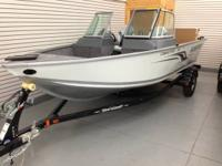 New Holdover Alumacraft Fishing Boat Priced to Sell!