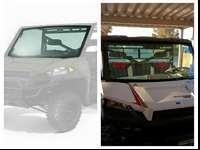 Full glass lock and ride windshield for 2013 and newer