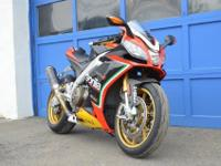 This RSV is Aprilia serviced, very well kept. Needless