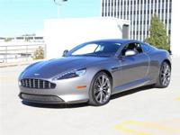 2013 DB9 Coupe Tungsten Silver and Obsidian Black with