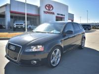 Leather. Recent Arrival! Black 2013 Audi A3 2.0T