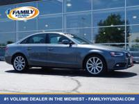 Come see this 2013 Audi A4 Premium Plus. Its Variable