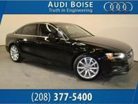 Recent Arrival! 8-Speed Automatic, quattro, Black