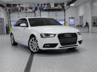 2013 Audi A4 Premium Plus WhiteReviews:  * High-quality