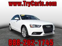 2013 Audi A4 2.0T Premium Plus quattro with Automatic