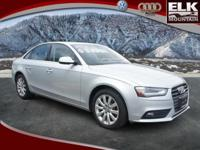 One Owner! CLEAN AUTO FAX! AUDI CERTIFIED 8-Speed