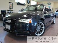 Options:  2013 Audi A5 Cabriolet 2.0T Fronttrak